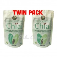 image of [TWIN PACK] Country Farm Certified Organic Chia Seeds 250g X 2