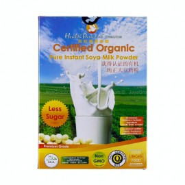 image of HEALTH PARADISE Organic pure instant Soya Milk Powder (Less Sugar) 500g