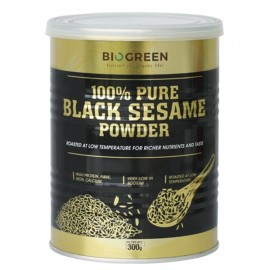 image of Biogreen 100% Pure Black Sesame Powder (HALAL) 纯黑芝麻粉 300g