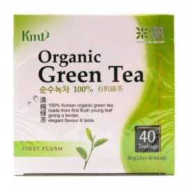 image of KMT Organic Green Tea 有机绿茶 40teabags
