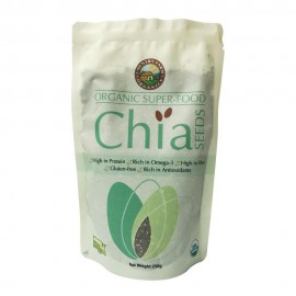 image of Country Farm Certified Organic Chia Seeds 250g