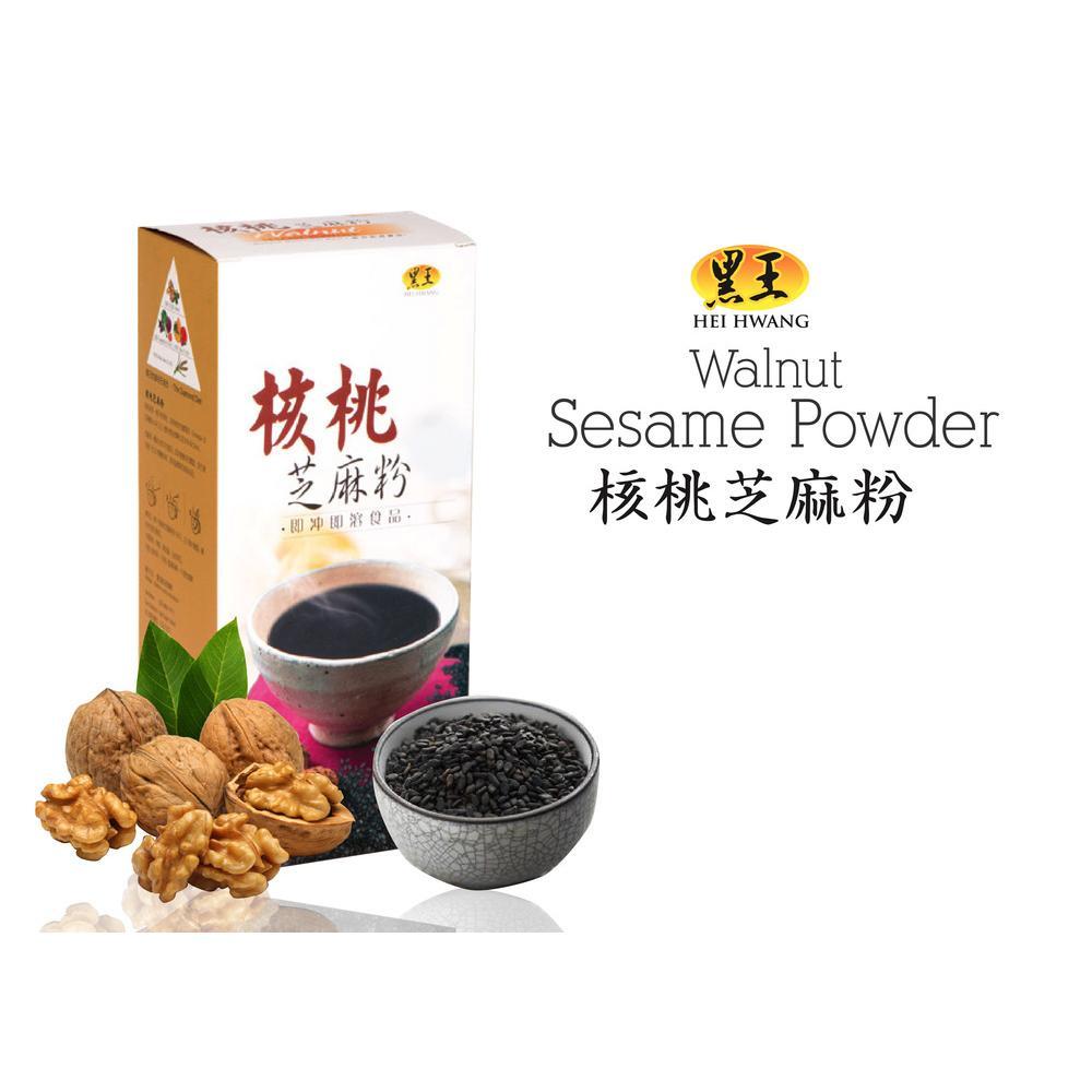 HeihwangWalnut Sesame Powder 核桃芝麻粉 30g x 15 Sachets