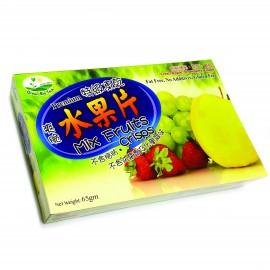 image of Green Bio Tech Premium Mix Fruits Crisps 特级冻干水果片 (65g)