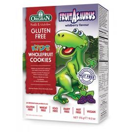 image of Orgran Fruitasaurus Wholefruit Cookies 175g (Gluten Free)