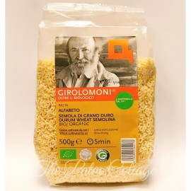 image of Girolomoni Organic Alfabeto Pasta (500g)
