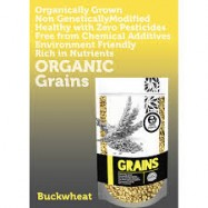 image of [TWIN PACK] Earth Living Organic Buckwheat 有机荞麦 500g X 2 (Expiry date : SEP 2018)
