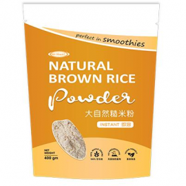 image of MHP - NATURAL BROWN RICE POWDER 大自然糙米粉 400g