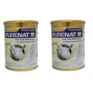 image of BONLIFE Purenat PREMIUM Pure Goat Milk Powder 800g x 2tins