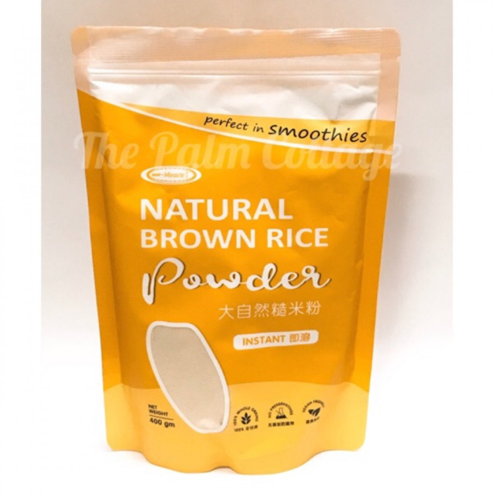 Miracle Natural Brown Rice Powder 天然糙米粉 400g
