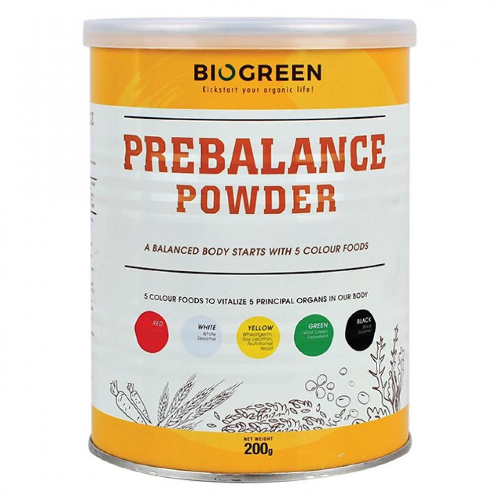 Biogreen Prebalance Powder 200G 五色三宝粉 ( Exp Dec2021)