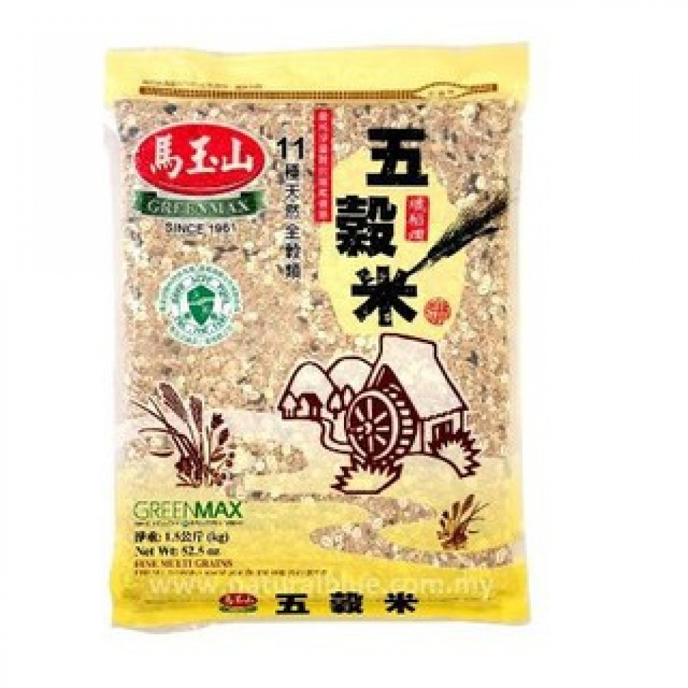 Greenmax Fine Multi Grains 马玉山五谷米 (1.5kg)