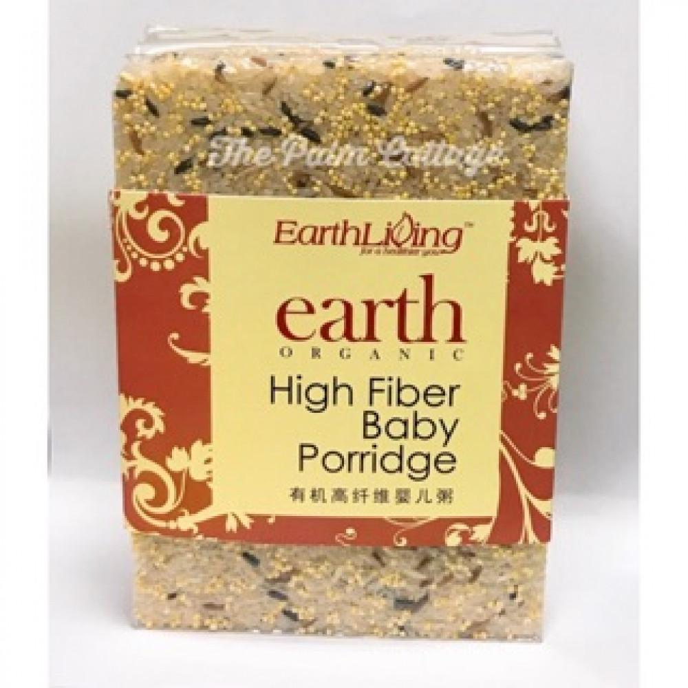 EARTH LIVING ORGANIC HIGH FIBER BABY PORRIDGE 1KG
