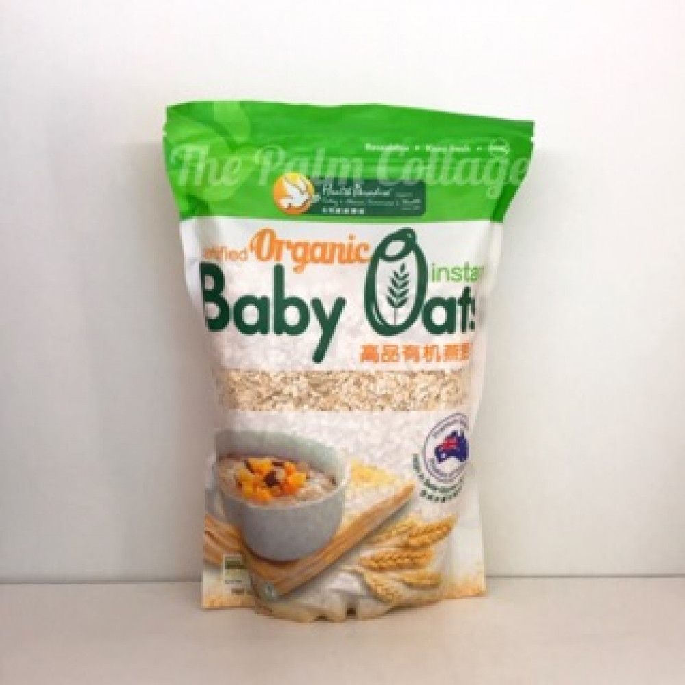 HEALTH PARADISE ORGANIC INSTANT BABY OATS 500g