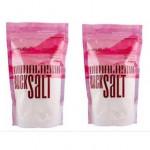 Earth Organic Natural Himalayan Rock Salt 500G X 2