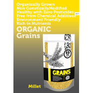 image of Earth Living Organic Millet (Non-Sticky) /500g (BUY 4 FREE 1)