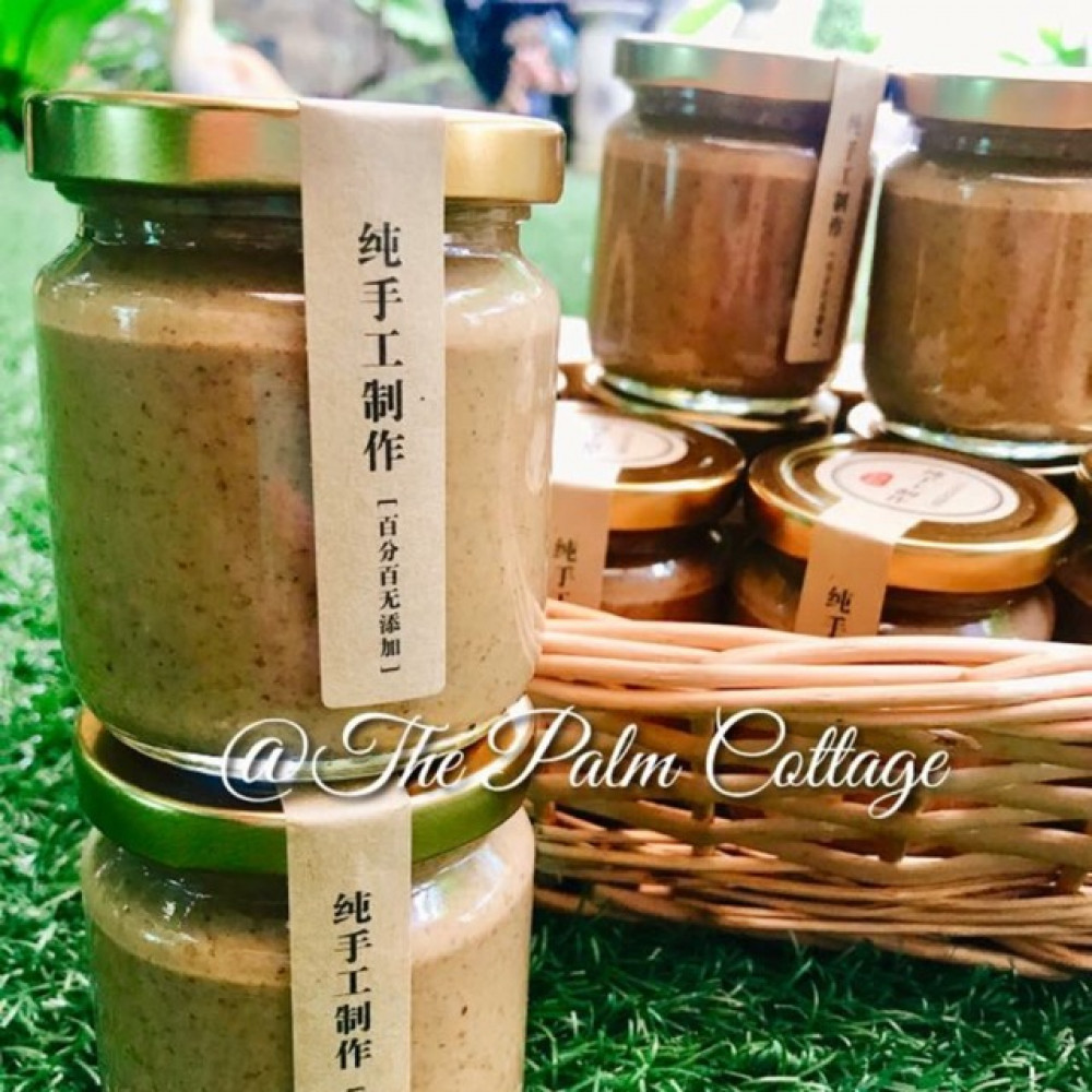 "100% Pure Almond Spread 纯杏仁酱 200g ""HOMEMADE """