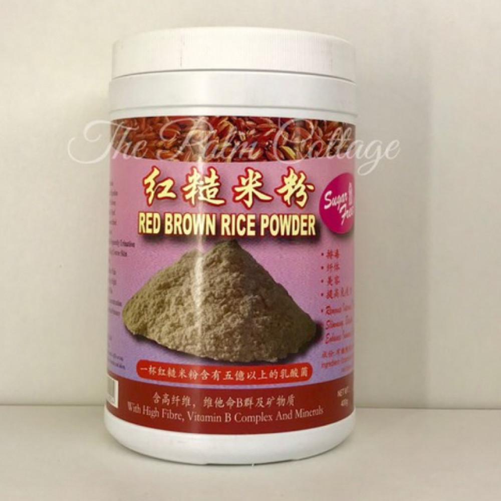 Miracle Red Brown Rice Powder 红糙米粉 (400g) EXPIRY DATE MAR 2021