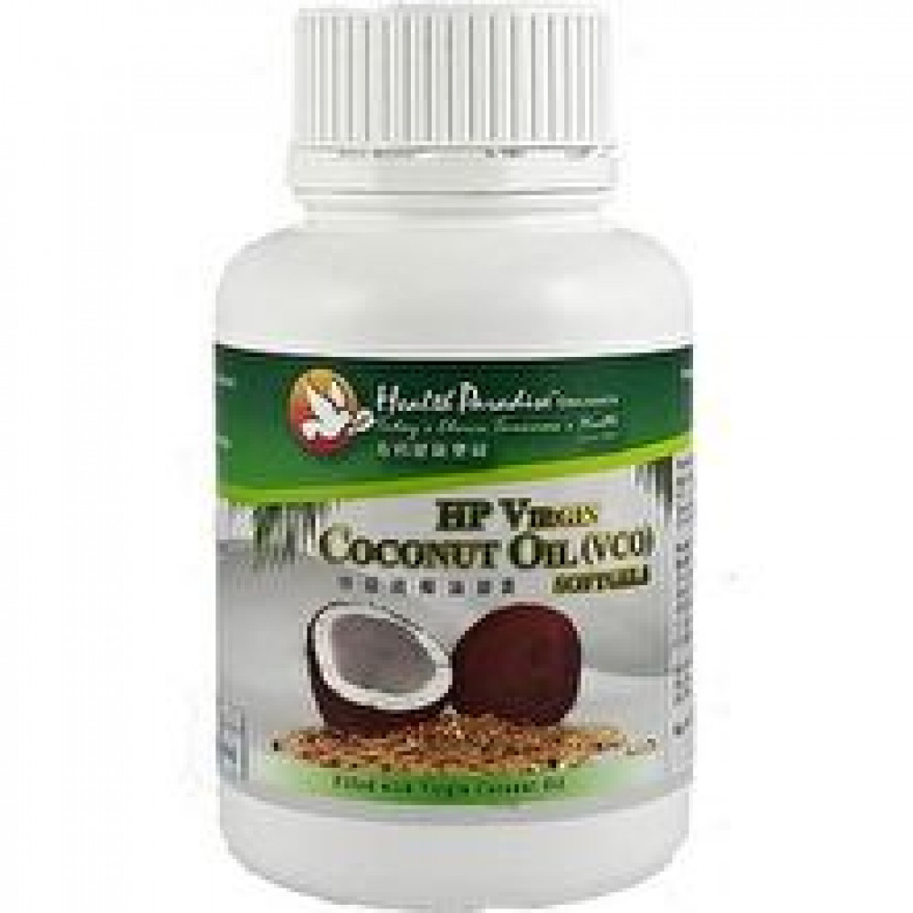 Health Paradise Virgin Coconut Oil(VCO) Softgels (60 Softgels)