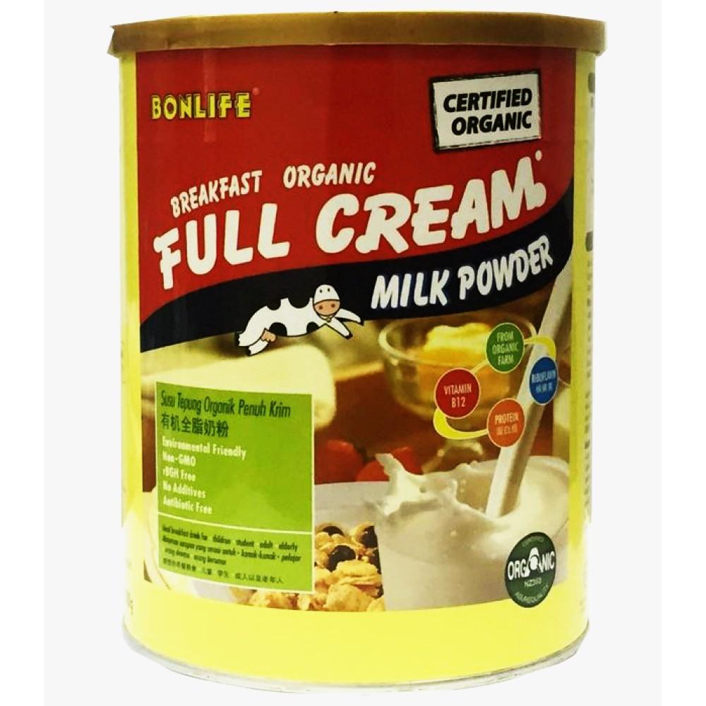 Bonlife Organic Full Cream Milk (800g) 有机全脂奶粉