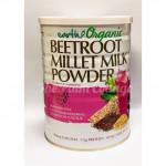 EARTH ORGANIC BEETROOT MILLET MILK POWDER 900G 有机甜菜根小米奶