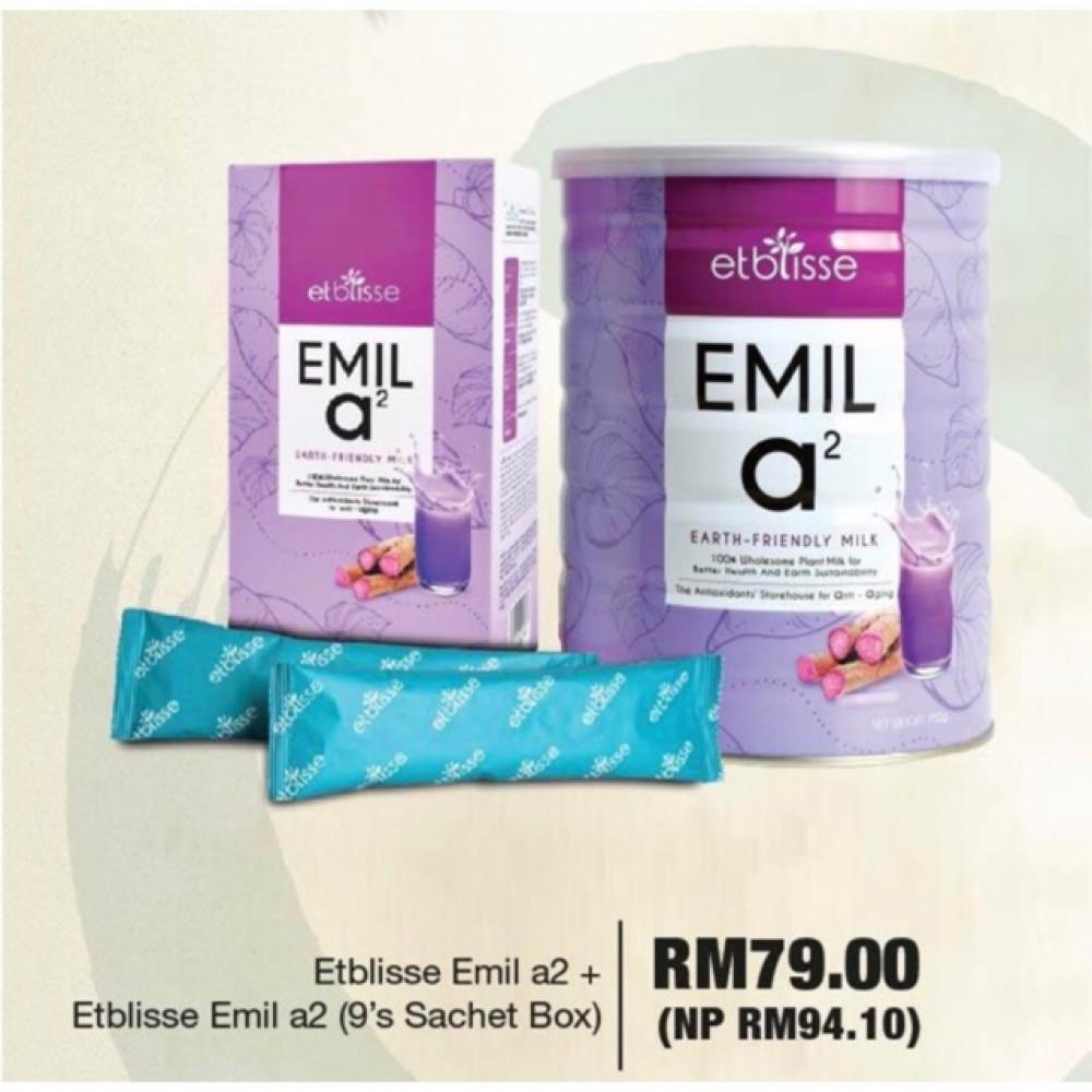Etblisse Emil a2 700g + Etblisse Emil a2 (9sachets box 270g)