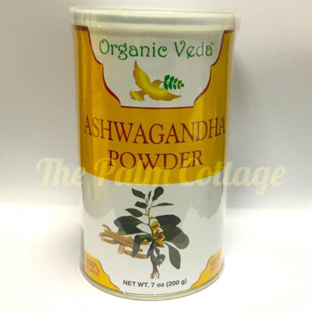 Organic Veda Organic Ashwagandha Powder(200g)