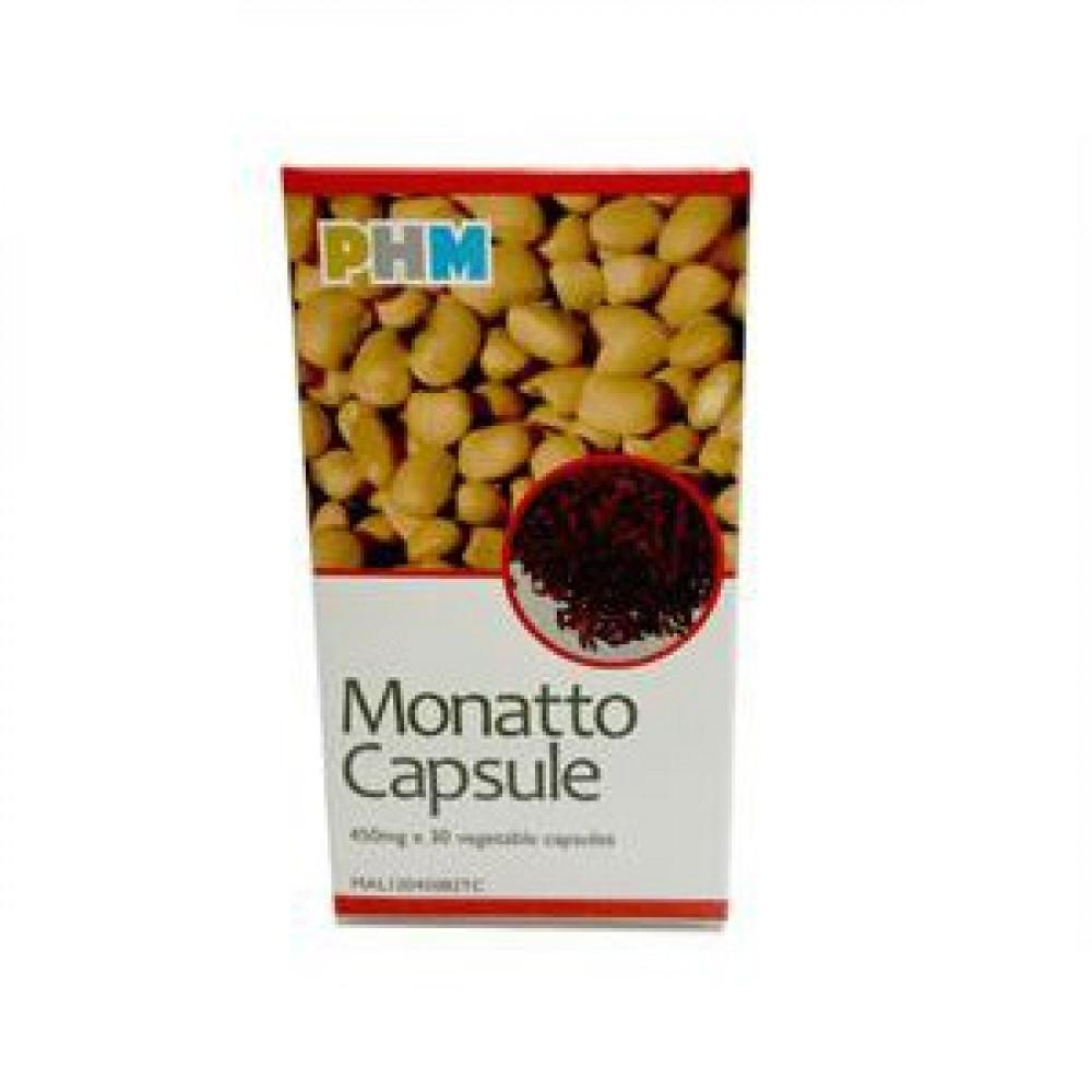 Monatto Capsule 450mg x 30 Vegetables Capsules