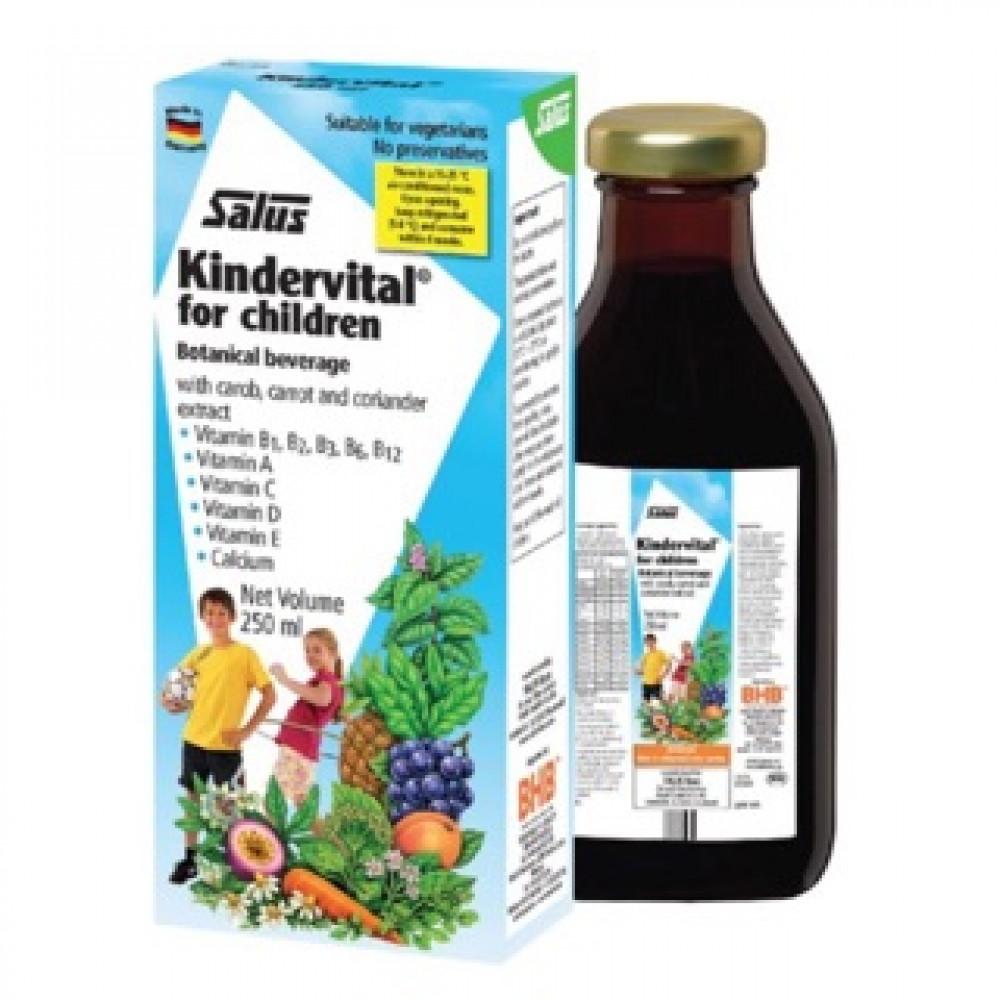 Salus Kindervital for children 250ml 儿童果蔬维生素营养液 增强免疫力