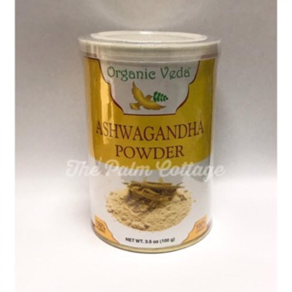 Organic Veda Organic Ashwagandha Powder (100g) EXPIRY DATE: FEB 2022