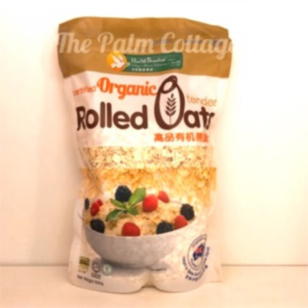 HEALTH PARADISE ORGANIC ROLLED OATS 500G