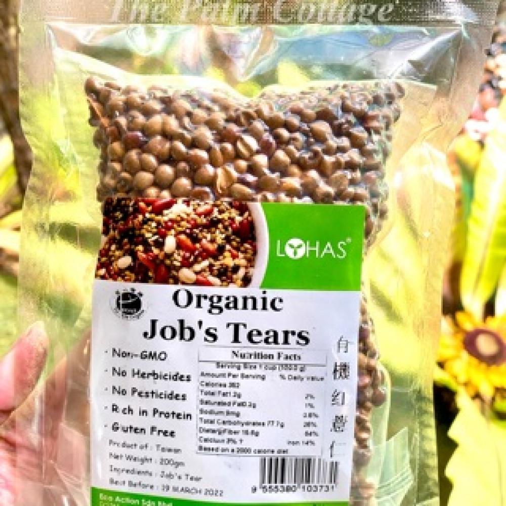 Lohas Organic job's tears 有机红薏仁 (糙薏仁)200g