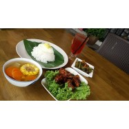 image of Fish and Chicken Meal Set for 1 person