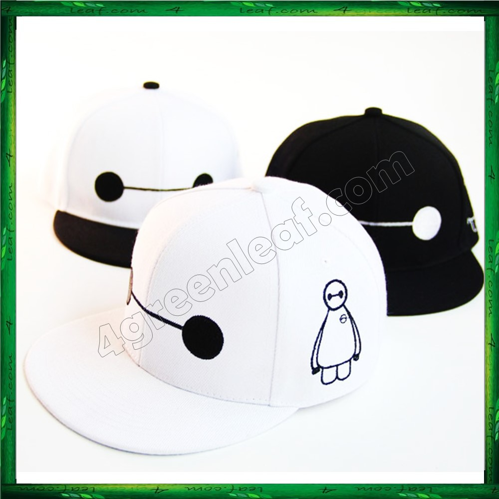 Adult SnapBack Hat Cap Various Design Big Hero 6 Baymax