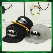 image of Batman Gold Silver Plated Snapback Cap Men Women