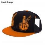 Men Women Finger Baseball Snapback Cap Topi
