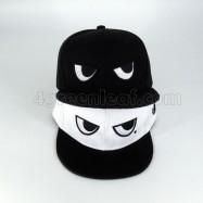 image of BlackWhite Eyes Snapback Cap Topi