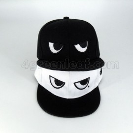 image of BlackWhite Eyes Snapback Cap Topi