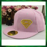 image of Superman Stripe Ladies Women Cap Snapback Hat