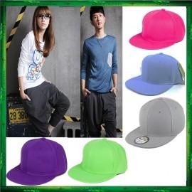 image of Fashion Unisex Baseball Cap Plain Snapback Hat Adjustable Cap