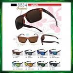 Ideal 8834 Polarized Sunglasses ( Frame Matte Black ) Glasses Cermin Mata