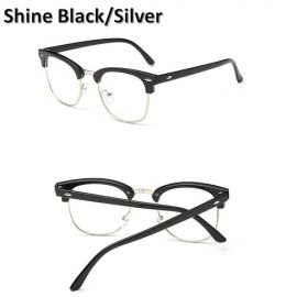 image of Computer Eye Strain Reduction Anti Blue Light Glasses Spectacles UV400 Design C