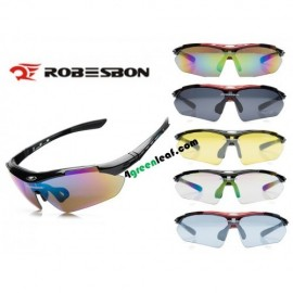 image of Robesbon 0089 (13 IN 1) Cycling Eyewear Bicycle UV400 Sport Polarized Sunglasses