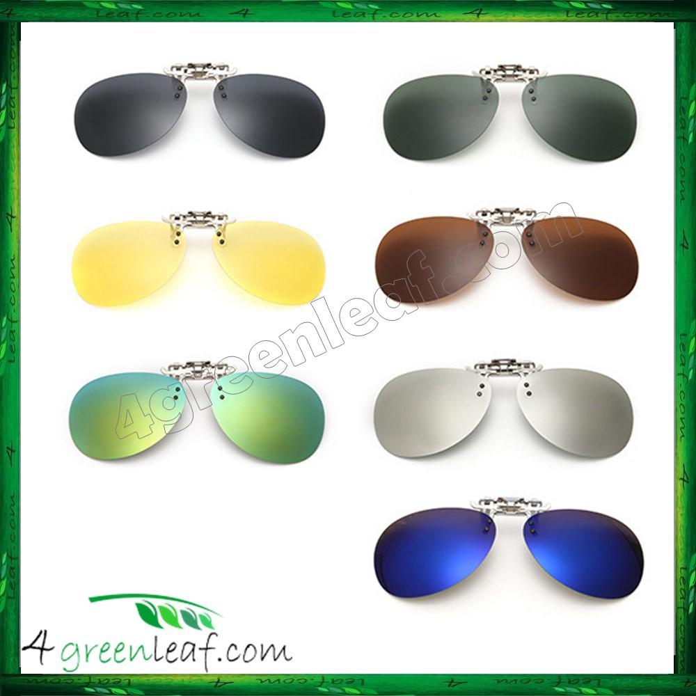 c486db0902 CS03 Aviator Clip On Polarized Sunglasses