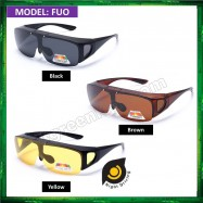 b1c54368a4e image of Polarized Flip UP Fit Over Overlap Sunglasses (UV400) FUO
