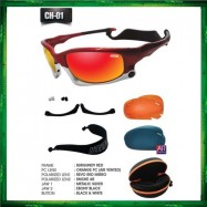 image of IDEAL 7 IN 1 Chameleon Series Lightweight Air Vented Lenses Sunglasses