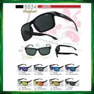 image of Ideal 8834 Polarized Sunglasses (Frame Shine Black)