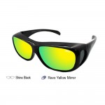 IDEAL 589P FIT OVER OVERLAP POLARIZED SUNGLASSES