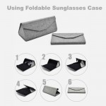 Foldable Sunglasses Case Casing Spectacles