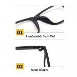 4GL Magnetic Clip On 6 in 1 Polarized UV Protection Sunglasses 2245A