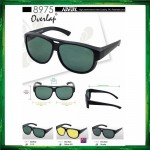 Original IDEAL 8975P Fit Over Overlap Polarized Sunglasses